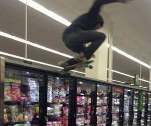skate, grunge, and skateboard image