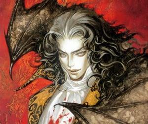 castlevania, Dracula, and illustration image