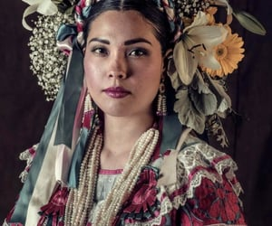 beauty, linda, and mexican culture image