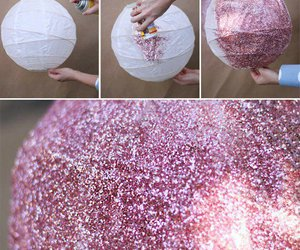 diy, glitter, and howto image