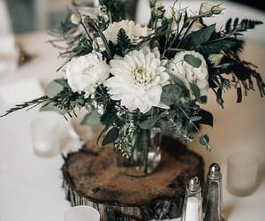 centerpiece, decoration, and flowers image