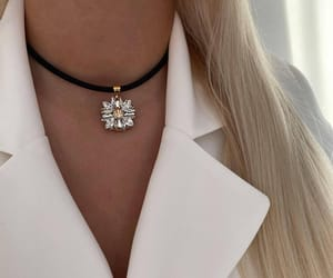choker, blonde, and Lithuania image