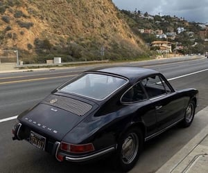 car, classic, and goals image