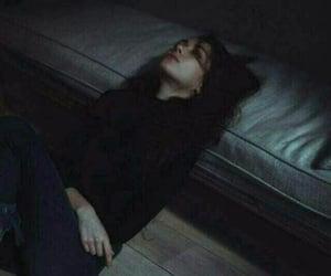 girl, broken, and dark image