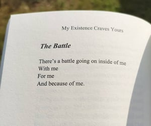 battle, message, and quotes image