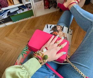 arm candy, bracelets, and heels image