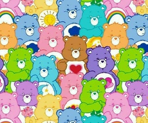 wallpaper, care bears, and aesthetic image