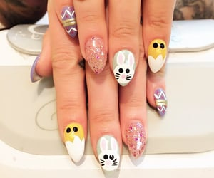 easter, fashion, and nails image
