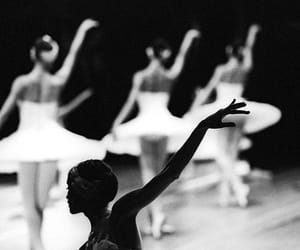 back, ballerina, and ballet image