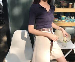 aesthetic, fashion girl, and korean image