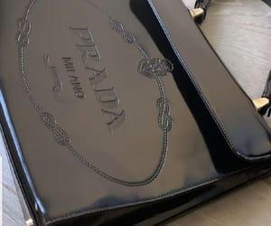 Prada, bag, and black image