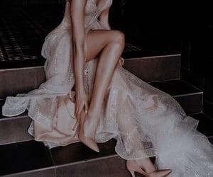 dress, night, and luxury image