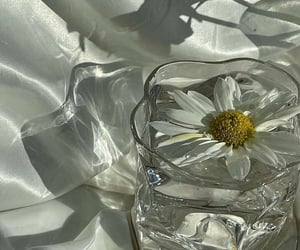 aesthetic, crystal, and white image