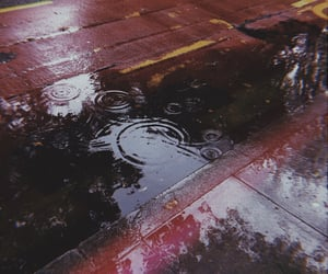 grunge, melancholy, and rain image