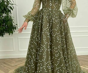 dress, astrophe, and fashion image