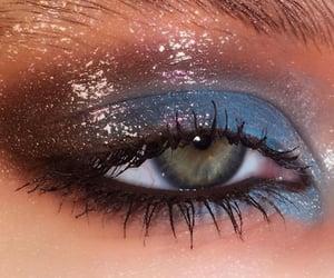 eyeshadow, nails, and makeup image