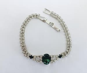 bridal jewelry, costume jewelry, and tennis bracelet image