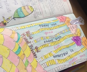 Dr. Seuss, bujo, and march image
