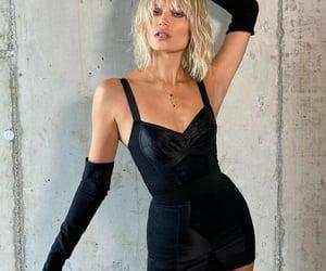 black dress, black, and classy image