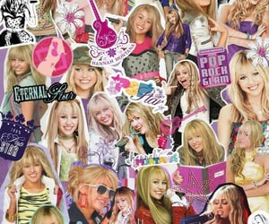 disney, rock, and hannah montana forever image