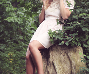 blogger, clothes, and forest image