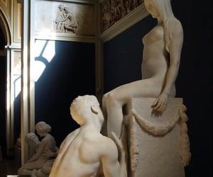 Greece, statue, and dark academia image