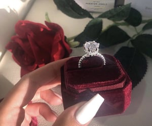 diamond, goals, and jewelry image