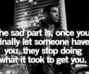 quote, Drake, and text image