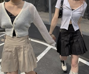 glamour, south korea, and fashion image