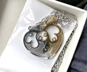 gifts, christmas gift, and bff necklaces image