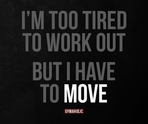 fitness, gymaholic, and motivation image