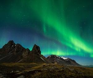 northern lights iceland image