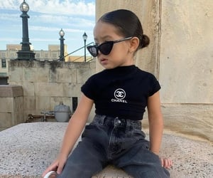 chanel, fashion, and toddler image