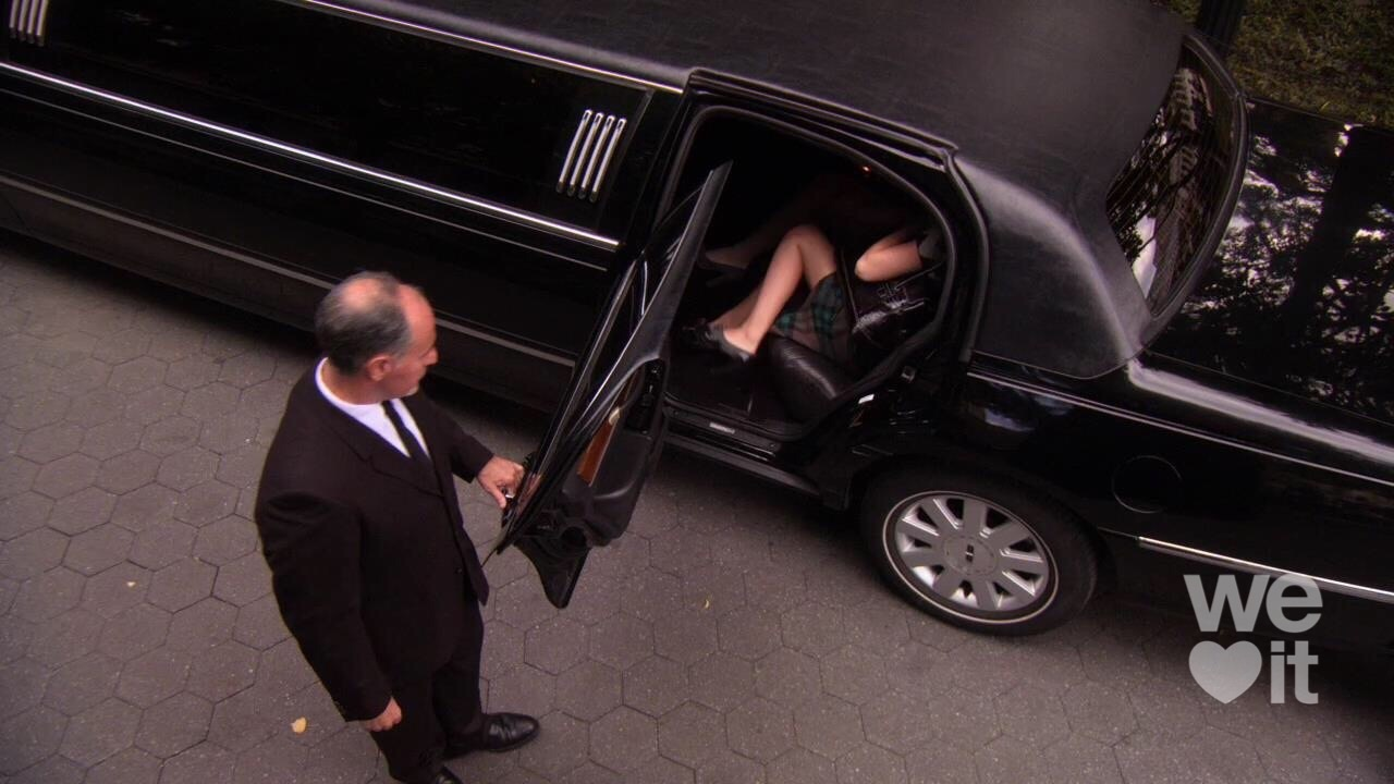 black, car, and dress image