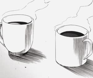 breakfast, coffee, and cup image