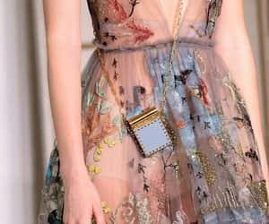 fashion, dress, and Valentino image