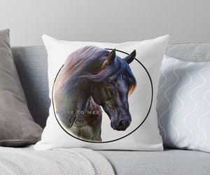 redbubble, animals, and equestrian image