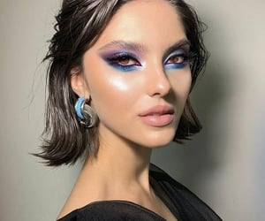 fashion, eyeshadow, and makeup image