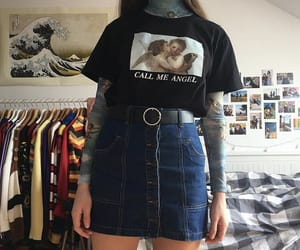 aesthetic, artsy, and outfit image