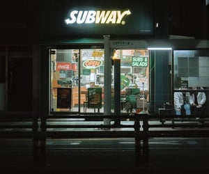 cocacola, store, and subway image