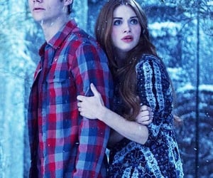stiles, teenwolf, and lydia martin image