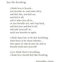 love, love poem, and words image