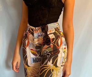 corset, Moschino, and vintage image