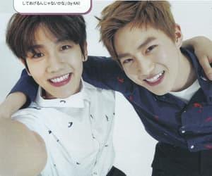 exo, subaek, and byun baekhyun image