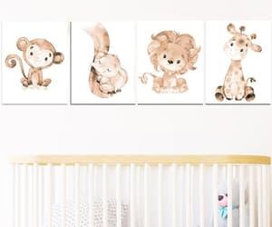 playroom print, playroom art, and canvas set of 4 image