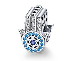 hamsa jewelry, hamsá, and hamsa charm image