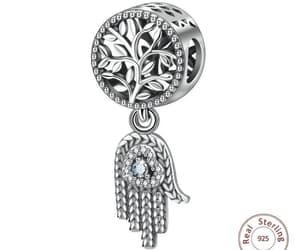 hamsa jewelry, hamsá, and hamsa hand jewelry image