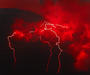 aesthetic, thunderstorms, and clouds image