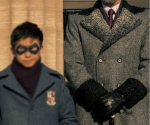 coat, the umbrella academy, and colm feore image