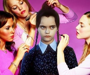 mean girls, family addams, and meme image